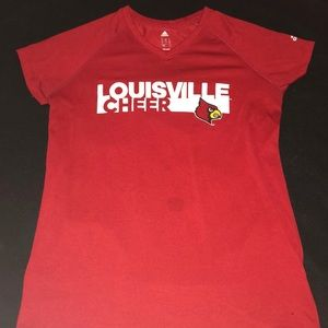 Adidas Climalite Louisville Cheer Shirt